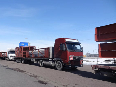 Pengfei equipment was gone to Kazakhstan, another EPC project is about to be completed