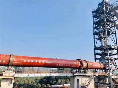 Pengfei's six rotary kilns with an annual output of 20,000 tons of lithium carbonate for batteries closed smoothly