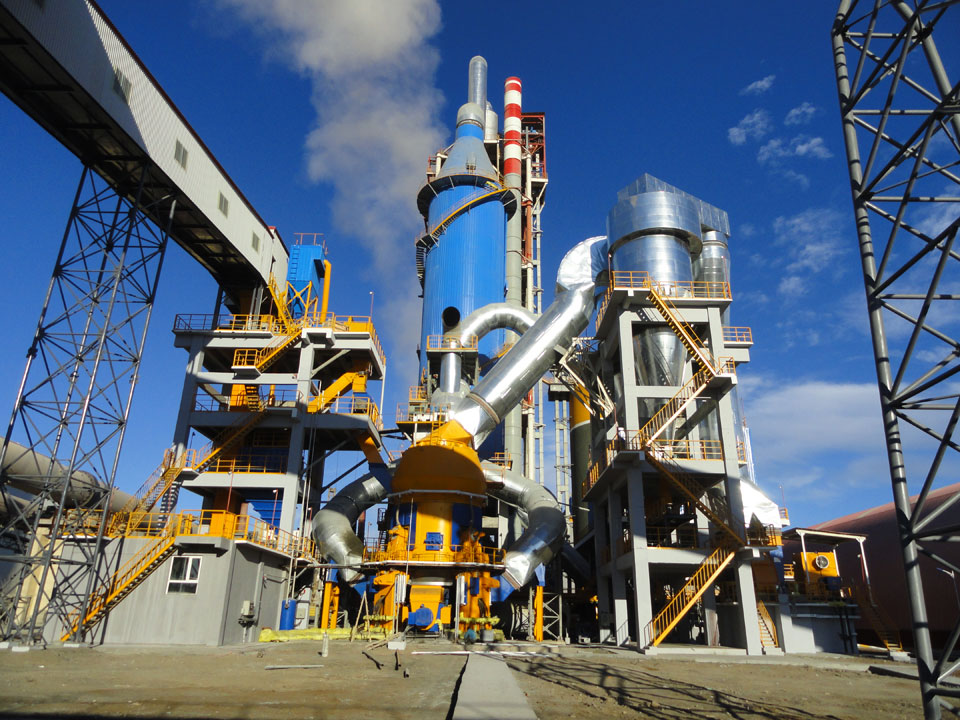 Mongolia 3 x2500t cement production line