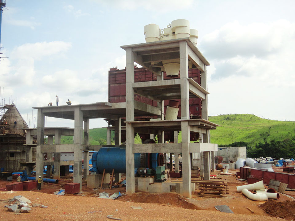 Congo FORSPAK cement plant dust collector installation site