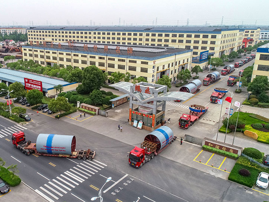 Pengfei group's first batch of cement production line equipment in Uzbekistan