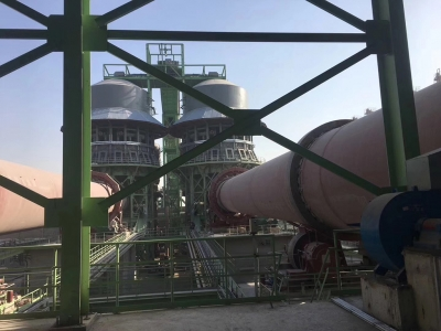 Two active lime production lines of Pengfei group with a daily output of 1000 tons were successfully ignited in Tangshan ganglu