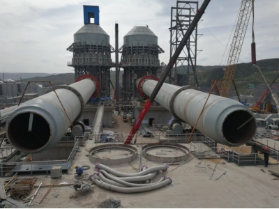 Jiangsu Pengfei constructed 2 * 1000t / D active lime project of Dongfang hope Jinzhong Aluminum Co., Ltd